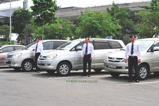 Car rental with driver in Ho Chi Mih City
